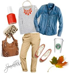 """""""Casual Coffee with Friends"""" by sparkle88 ❤ liked on Polyvore"""