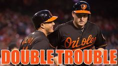 Mark Trumbo and Manny Machado combine for 4 hits and 2 homers as the Baltimore Orioles beat the Indians 5-1!