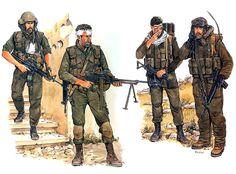 """Battleground Lebanon""  • IDF Tank Commander, Tyre, June 1982  • Recon paratrooper 2nd lieutenant, Ein El-Hilweh Refugee Camp, June 1982  • Giva'ati Brigade infantryman, Security Zone 1988  • Armored Corps reservist, SO, Lebanon 1985   Ronald Volstad"