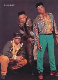 Bell Biv Devoe. These clothes are amazing.
