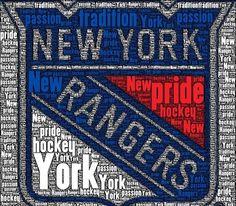 New York Ranger Hockey!