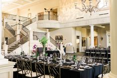 The dining room at the Club   Ruby Hill Wedding Photography #theclubatrubyhill
