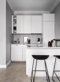 25 Fascinating Kitchen Layout Ideas 2020 A Guide For Kitchen Designs Small Apartment Kitchen Decor Scandinavian Kitchen Design Small Condo Kitchen