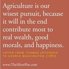 Letter from Thomas Jefferson to George Washington