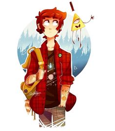 Older!Dipper   Dang he look good. Translation.... Puberty hit this boy REAL hard.