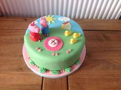 Peppa pig and George cake