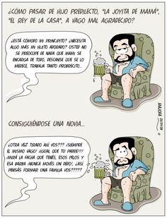 Pequeña guía ilustrada para hijos Varones