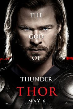 Thor...Movie was OK but the effects and Thor himself made up for lack of dynamic story telling. :)