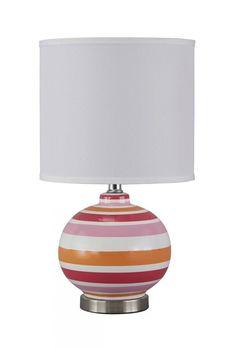 Sirene Pink/Orange Table Lamp