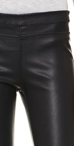 vegan pull legging blank denim