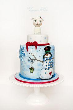 Christmas cake - Cake by Alina Vaganova