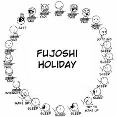 fujoshi holiday starts on the first day of spring break. Hopefully you will be joining me in watching all the yaoi!