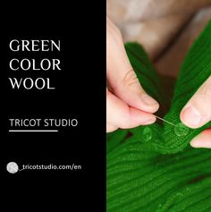Discover all our collection of green wool ! Absinthe, Fir Tree, Green Wool, Green Fabric, Green Colors, Apple, Collection, Mint, Green