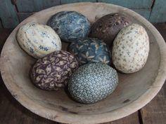 Primitive Egg Bowl Filler. By TreasuredPrimitives,  via Etsy.