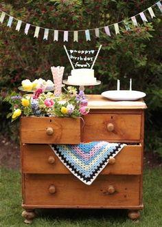 Springtime easily duplicated for wedding