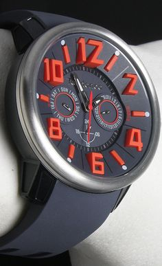 Tendence G-47 TG760004 Watch - The compact name G-47 symbolizes the young, modern, slightly unconventional identity and attitude of Tendence, which stems from the Tendence philosophy which emphasizes choice of expression and individuality.     The Coolest Watches from Watchismo.com