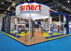 Smart exhibition stand at Ecobuild