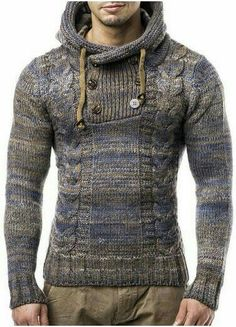 Beat the chilling weather and look fashionable with a black cardigan. Already preferred by both sexes, you know you are on the right track when you pull it off Sweater Jacket, Men Sweater, Casual Wear, Men Casual, Urban Fashion, Mens Fashion, Cool Outfits, Casual Outfits, Well Dressed