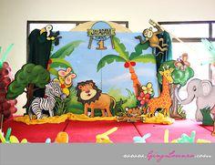 Jungle Theme Birthday Decor