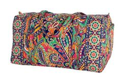 Large Duffel   Vera Bradley   A travel bag! Really want one since I don't have a duffel.