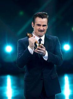 """Zu Recht freuen konnte sich Colin Farrell. Er bekam die """"Goldene Kamera"""" als..."""