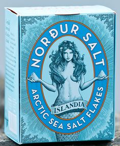 Iceland's Norður & Co Salt Iceland's Norður & Co Salt : Made purely with geothermal energy in the northern reaches of the country and pulled from the history books Mark Summers, Geothermal Energy, Iceland Travel, Tin Boxes, History Books, Hot Springs, Packaging Design, Vintage Packaging, Arctic