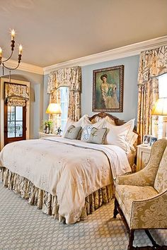 Carpet, Crown molding, Mediterranean, Traditional, Glass Panel, Chandelier