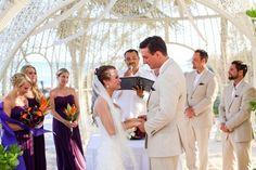 Jessica & Ryan's destination wedding in Mexico, Mexico beach wedding, Mexico wedding ideas @destweds