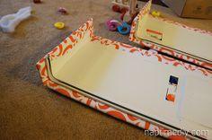 pelmet box ... I had no idea they were called pelmet boxes. Weirdo name.