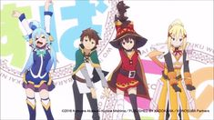 via GIPHY Konosuba 2