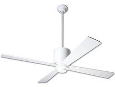 Lapa Fan No Light by Modern Fan Co. | LAP-BN-42-NK-NL-NC