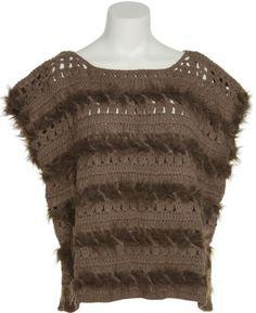 ROMEO & JULIET COUTURE Open Knit Faux Fur Sweater,MOC,S Romeo & Juliet http://www.amazon.com/dp/B00O3JR214/ref=cm_sw_r_pi_dp_5Xxlub17BGAVT