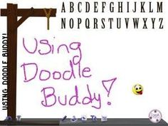 Fun Ways Of Using Doodle Buddy App In Speech! (free app)
