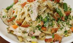Everyone loves chicken pot pie. Everyone loves pasta. So bring these two tasty dishes together for Chicke...