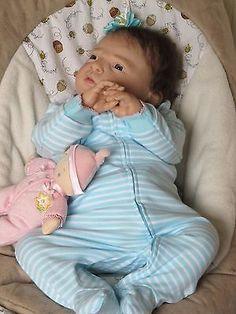 ADORABLE REBORN BABY HANNA BY REVA SCHICK, REALISTIC, NO RESERVE