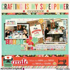 Crafting is my Superpower! - Scrapbook.com