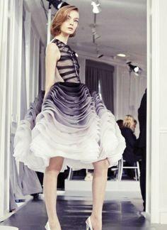Christian Dior - Vestido degrade