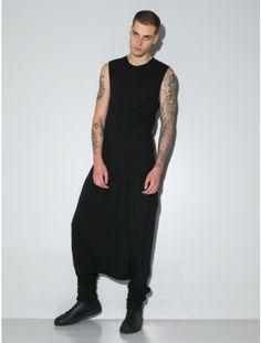 OAK dhoti suit pant black