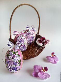 Купить Пасхальное яйцо - подарок к Пасхе, подарок женщине, для дома и интерьера, сувениры ручной работы