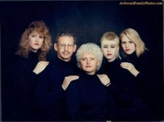 """""""The Mimes"""" from www.awkwardfamilyphotos.com"""