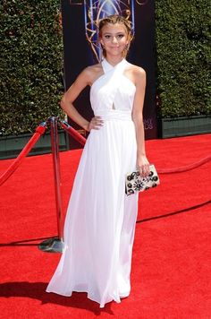 G. Hannelius - Stars at the Creative Arts Emmy Awards