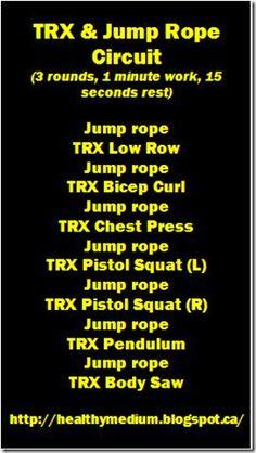 TRX & Jump Rope Circuit