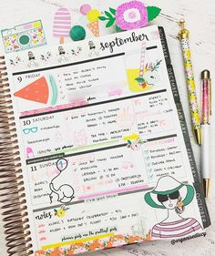 Completed Week in my @ErinCondren Have a lovely day / evening everyone