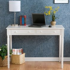 Whitehall 2-Drawer Writing Desk made by Modern Living.