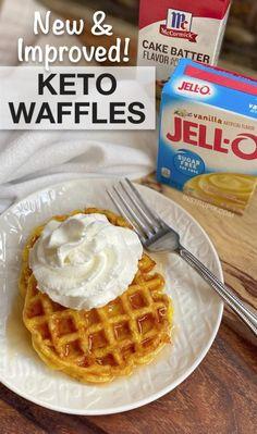 Best Keto Breakfast, Breakfast Recipes, Dinner Recipes, Breakfast Ideas, Dessert Recipes, Ketogenic Recipes, Keto Recipes, Ketogenic Diet, Jelly Recipes