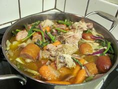 Leftover Chicken Soup Recipe - Have leftover chicken make chicken soup the Paleo Way!
