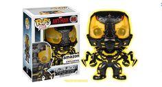 (OCT 2015) Funko POP Movies: Ant-Man Glow in The Dark Yellow Jacket Action Figure