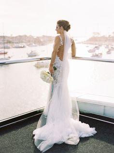 Elegant + Glamorous Newport Yacht Wedding Photography : Mariel Hannah Read More on SMP: www. Yacht Wedding, Dream Wedding, Garden Wedding, Wedding Tags, Wedding Ideas, Wedding Details, Wedding Photos, Brides Room, Boat Fashion
