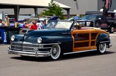 1948 Chrysler Town and Country.