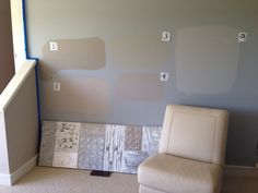 Please vote.  All Sherwin Williams 1 - Mega Greige SW 7031 2 - Anew Gray SW 7030 3 - Mindful Gray SW 7016 4 - Requisite Gray SW 7023  5 - Light French Gray SW 0055